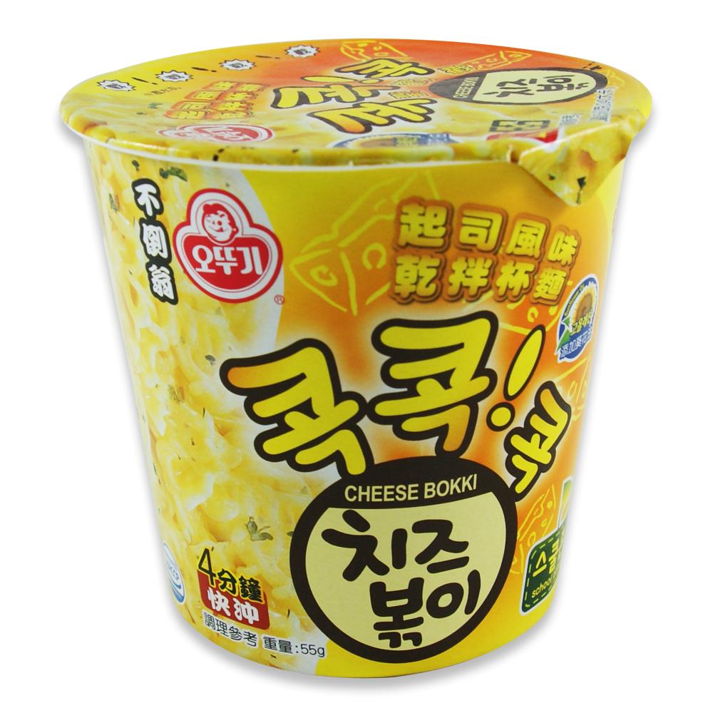 韓國不倒翁OTTOGI 起司風味乾拌杯麵(55g)
