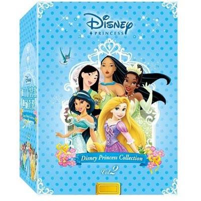 迪士尼公主典藏套裝2 DVD