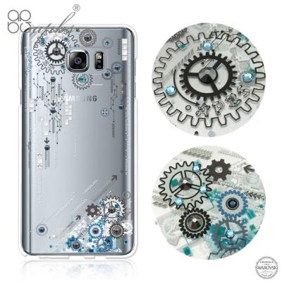 apbs Samsung Galaxy Note5 施華洛世奇彩鑽手機殼-源動