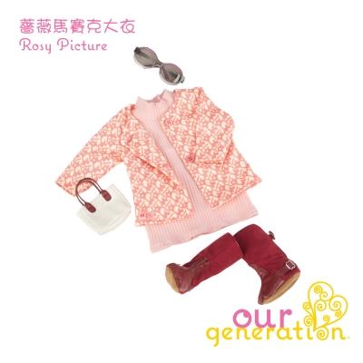 美國【our generation】薔薇馬賽克大衣 (3Y+)