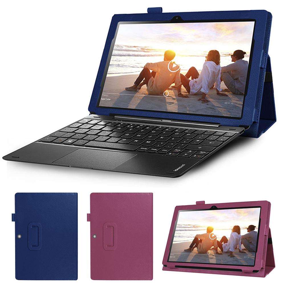 聯想 Lenovo Miix 310 專用可裝鍵盤帶筆插平板電腦皮套 保護套
