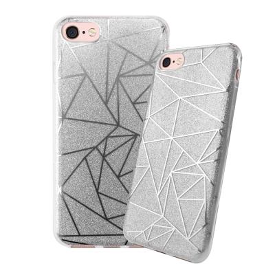 LUCCIDA iPhone 8幾何星辰軟式保護殼