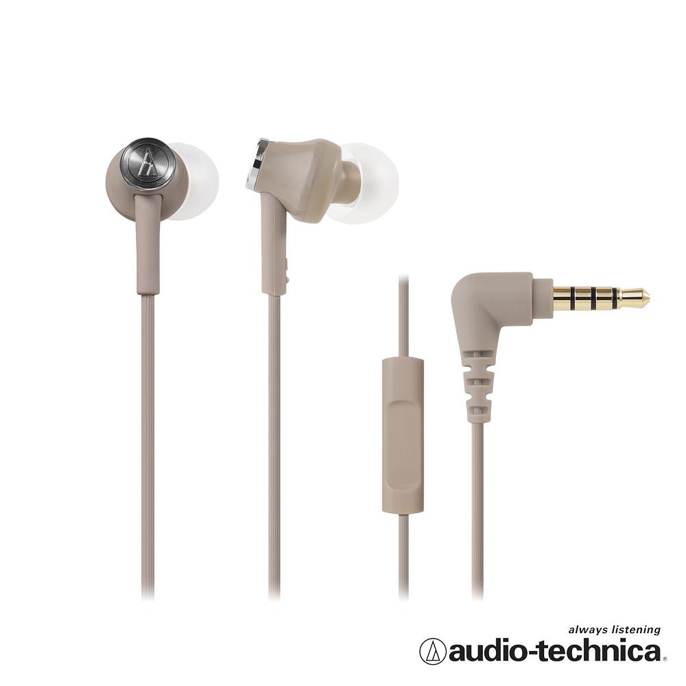 鐵三角 ATH-CK350iS 智慧型手機用耳塞式耳機(附捲線器) product image 1