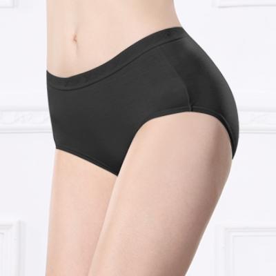 可蘭霓Clany  天絲棉質M-XL中腰褲 神秘黑