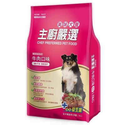 FUSO Pets 主廚嚴選美味犬糧 牛肉口味 1.5kg