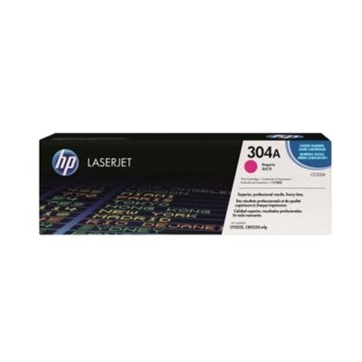 HP CC533A 304 原廠紅色碳粉