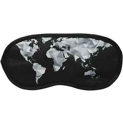 DQ 輕旅眼罩(幾何地圖)