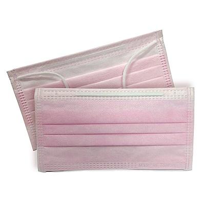 貝斯康 日安美醫用口罩 未滅菌(粉紅色) 6包 共30入