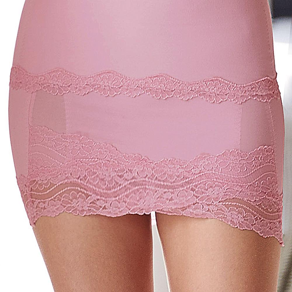 曼黛瑪璉-2013SS 魔幻美型 輕機能-中腰短塑裙(光柔粉)