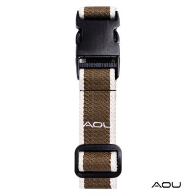 AOU 台灣製造 多用途行李外扣帶旅行省力好幫手 (軍綠) 66-028D5