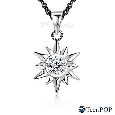 ATeenPOP-925純銀項鍊-守護之神