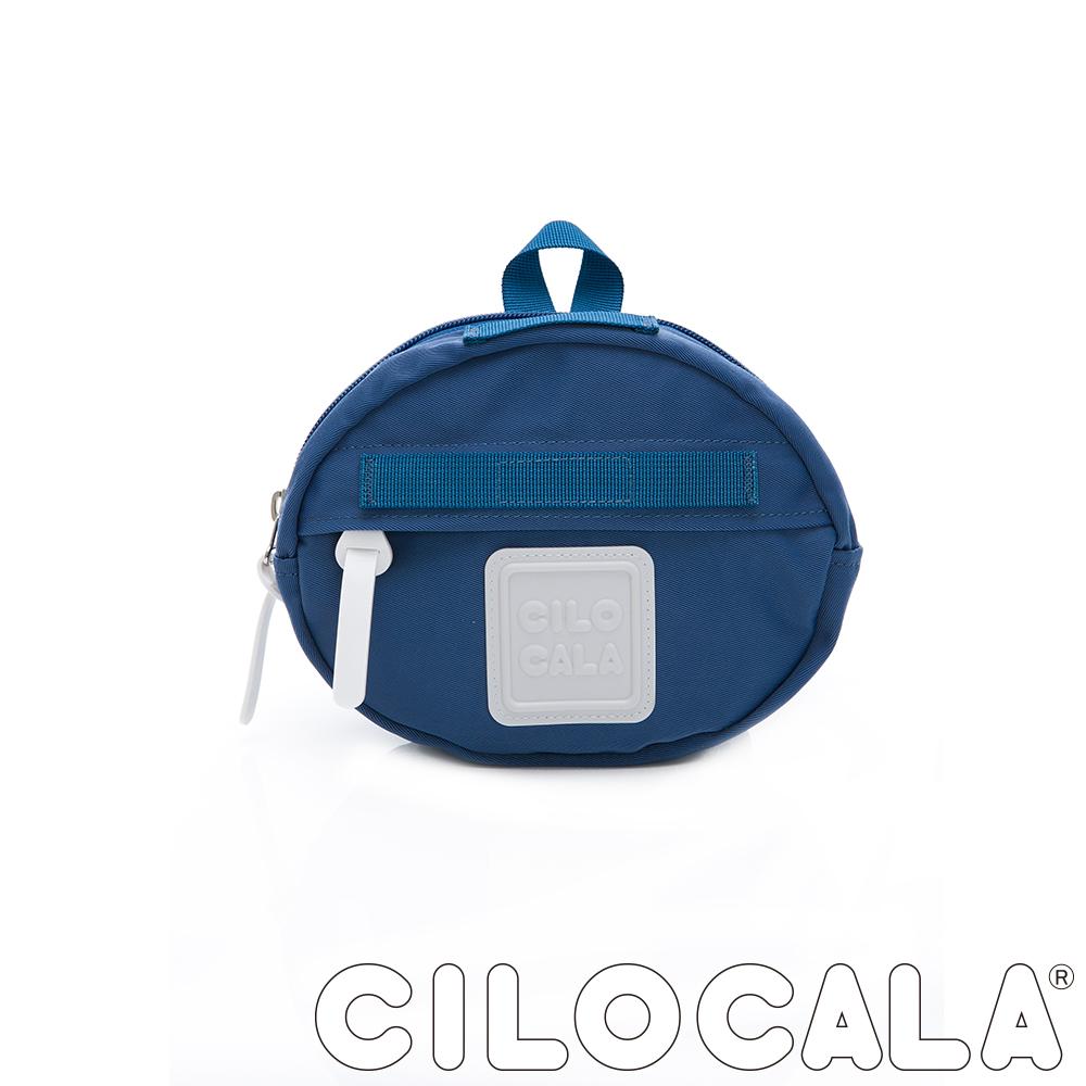 CILOCALA 亮彩尼龍防潑水MINI TAMAGO側背包(小) 湖藍色