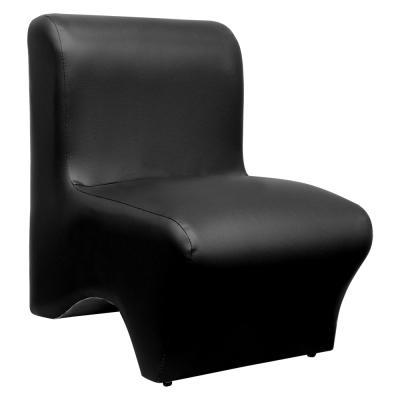 【Mr. chair】時尚美型-單人小沙發 (黑色)