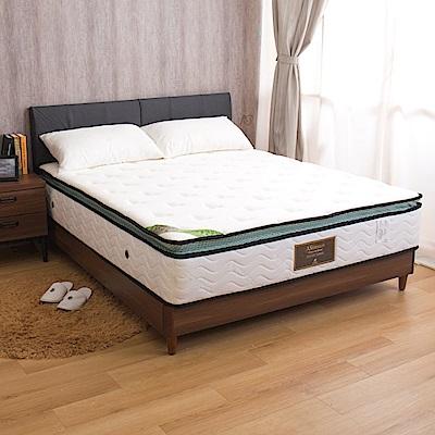 巴爾克 乳膠呼吸正三線特殊硬式雙人5尺獨立筒床墊