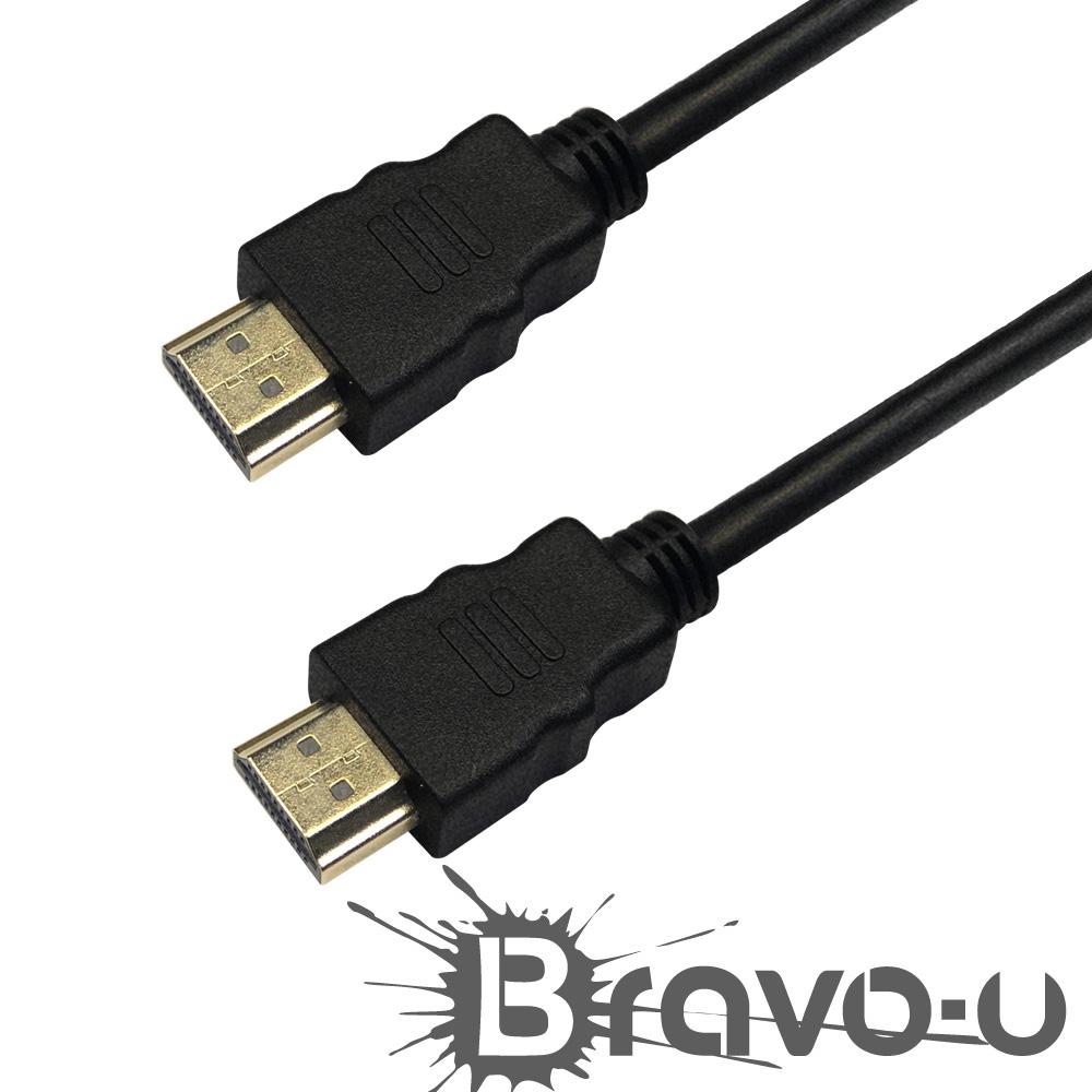 Bravo-u HDMI to HDMI 4K超高畫質影音傳輸線1.8M(2入)
