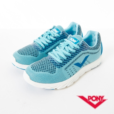 PONY 女_START NEO系列_輕量慢跑鞋_粉藍