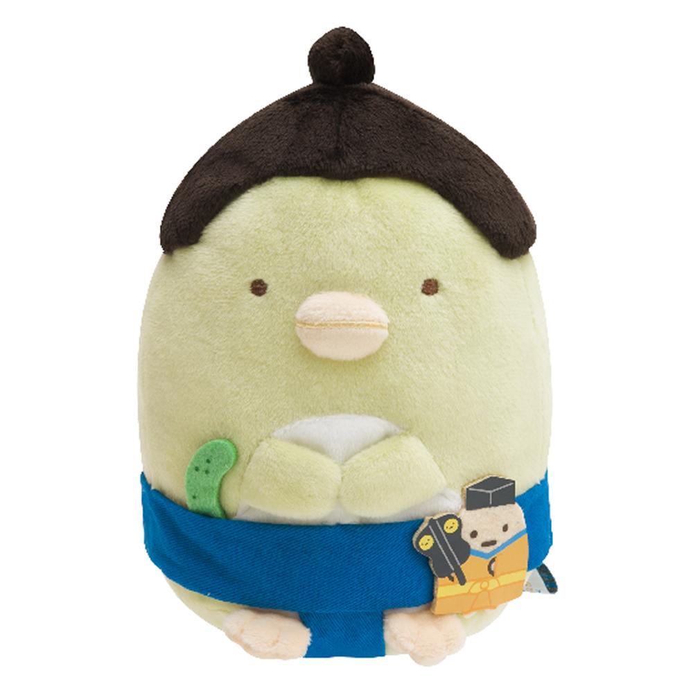 角落公仔環遊世界海外限定版毛絨公仔 企鵝君 日本相撲 San-X
