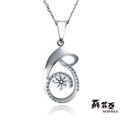 蘇菲亞SOPHIA - 希望法貝樂鑽石項鍊-18K