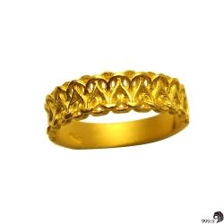 歷代風華-幸福纏綿黃金女戒(約1.1錢)