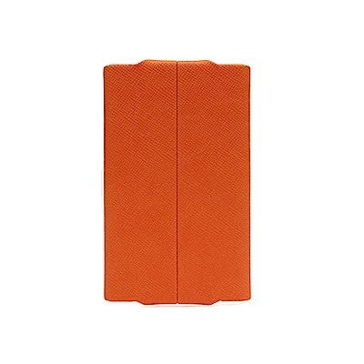 FEDON 1919 Classica經典皮面橫開名片夾-橘