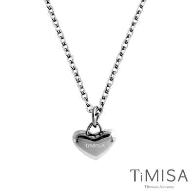 TiMISA《鈦真心》純鈦項鍊
