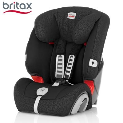 Britax 旗艦成長型汽車安全座椅 黑色