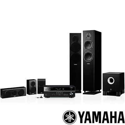 Yamaha-舒伯特家庭劇院組-RX-V477-N