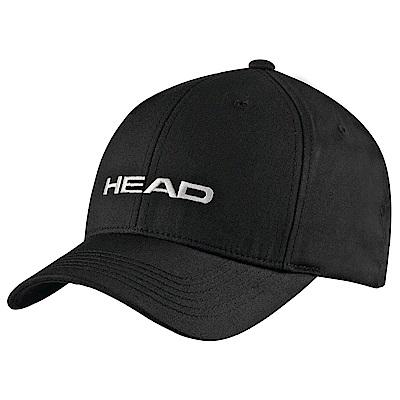 HEAD奧地利 素面可調式 運動帽/棒球帽/遮陽帽-黑(2入) 287292