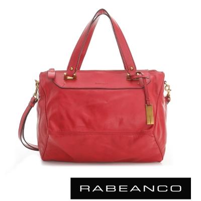 RABEANCO OL 時尚粉領系列菱形包(中) - 紅
