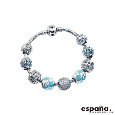 ESPANA伊潘娜 溫柔時光純銀串珠手鍊