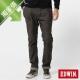EDWIN 窄直筒 迦績褲迷彩CARGO牛仔褲-男-橄欖綠 product thumbnail 2