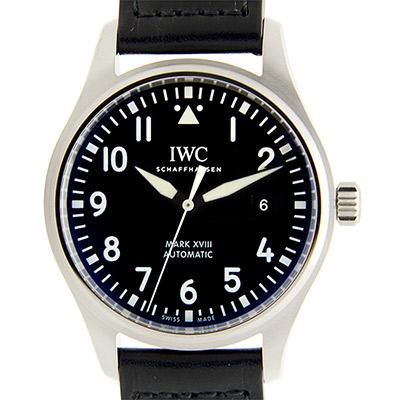 IWC 萬國錶 馬克十八飛行員款(IW327001)-黑/40mm