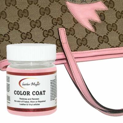 皮革魔法師-名牌專屬皮革環保染料 35ml【GUCCI粉紅色】