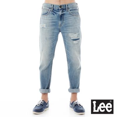 Lee 牛仔褲 731中腰舒適小直筒牛仔褲/VL-男款