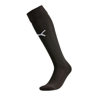 PUMA-男女專業足球系列素色半統襪-黑色