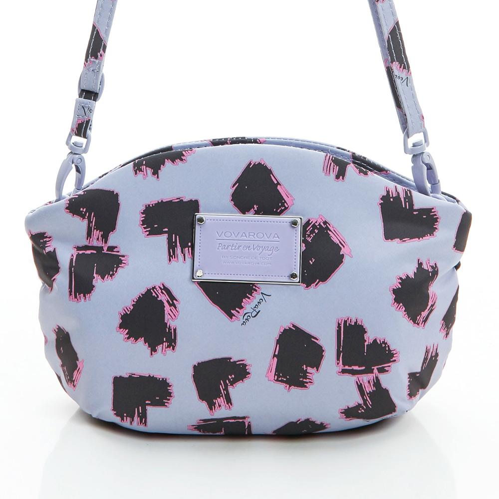 VOVAROVA空氣包-去約會側背包-彩繪甜心(紫)-法國設計系列