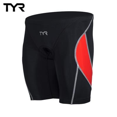 美國TYR 男性成人三鐵短褲 紅 VANGUARD 9 TRI PANTS