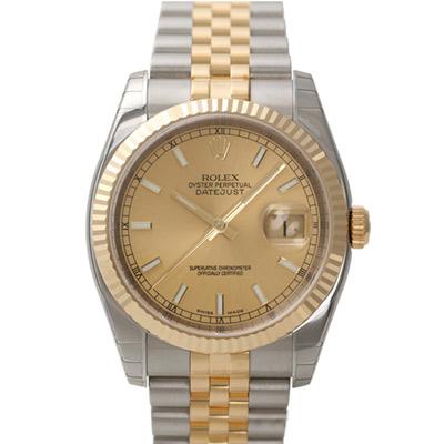 ROLEX 勞力士 DateJust 116233 蠔式恆動日誌型錶-標準丁字面/37mm