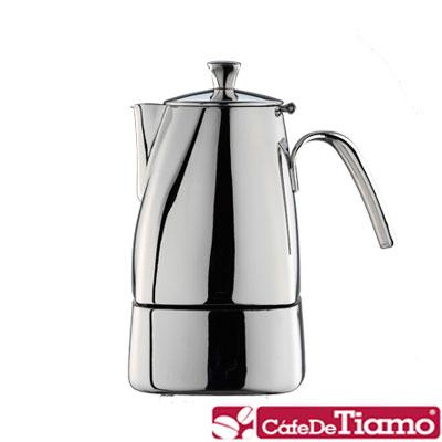 Tiamo-不鏽鋼505摩卡壺3杯-HA2287
