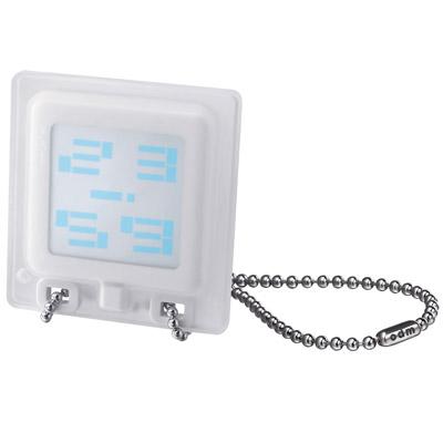 o.d.m. 時光看板個性潮流項鍊錶-白/59mm