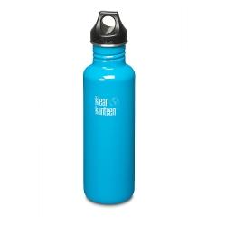 美國Klean Kanteen不鏽鋼瓶800ml-島嶼藍