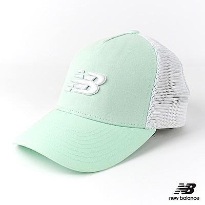 New Balance卡車帽500296322中性淺綠