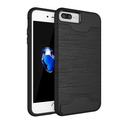 極簡派 Apple iPhone 7 Plus/8 Plus插卡式保護殼(送保貼...