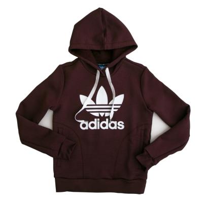 Adidas-SLIM-連帽長袖上衣-女