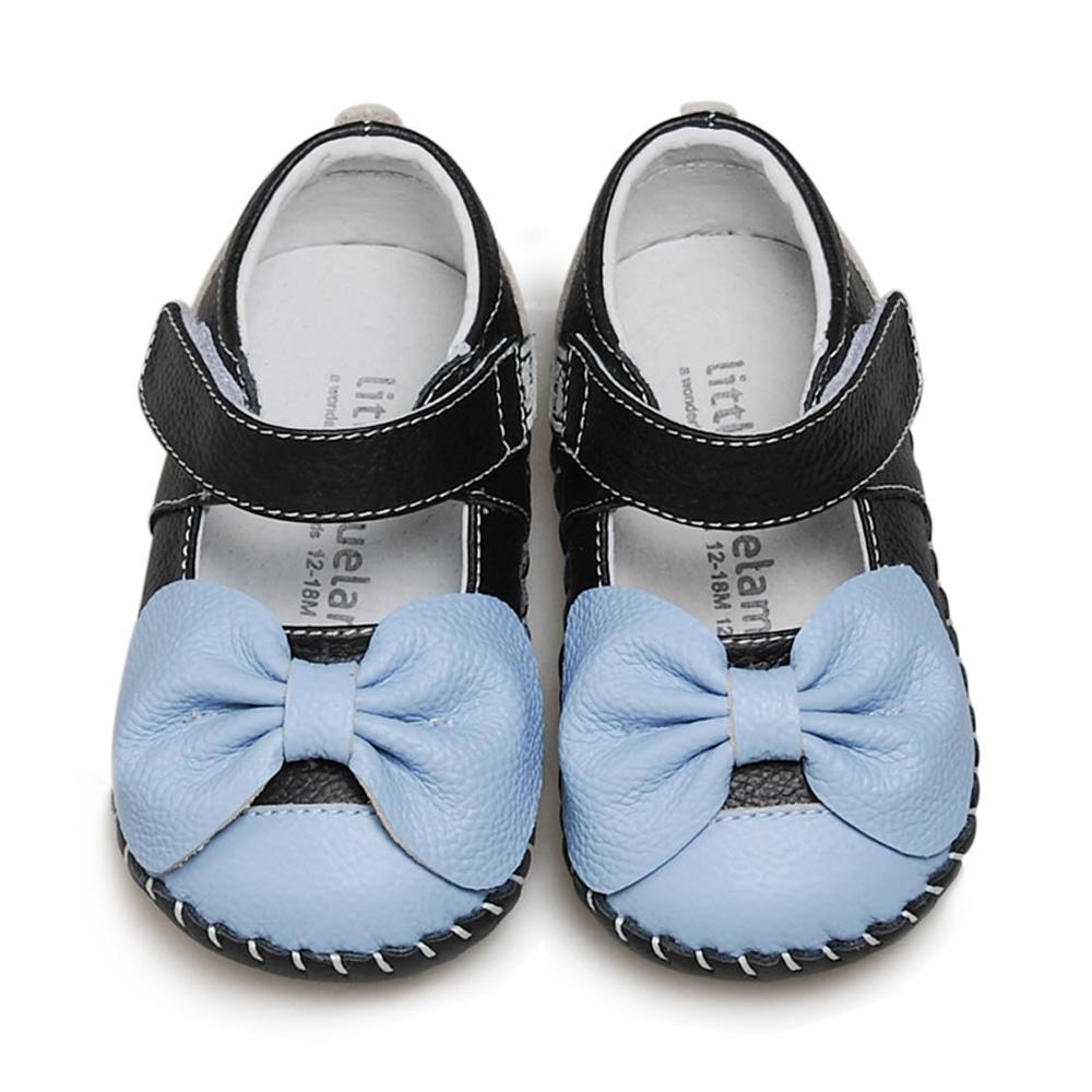 美國littlebluelamb小藍羊真皮防滑兒童學步鞋LI206(單一尺寸)