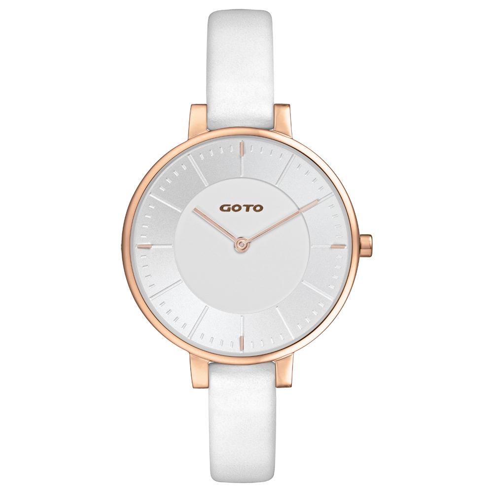 GOTO   瑞典風情時尚腕錶-GL1040L-42-241/35mm