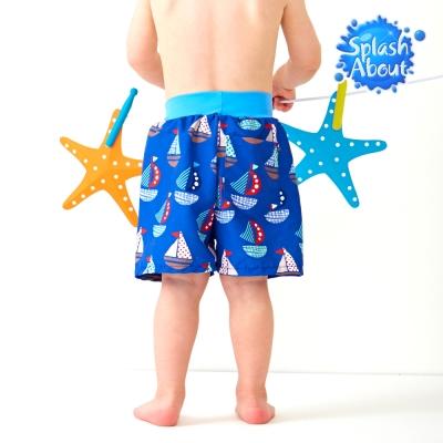 Splash About 潑寶 嬰兒抗UV海灘尿布褲(普普風帆船)