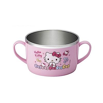 HELLO KITTY不鏽鋼湯杯700ML(快)