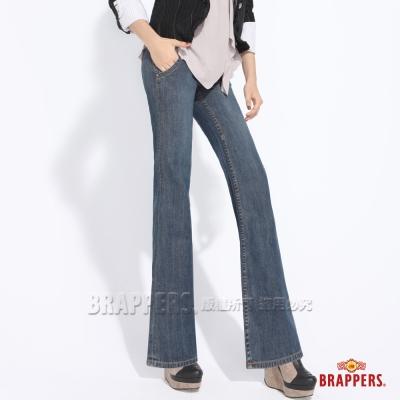 BRAPPERS 女款 女垮褲系列-女用水兵褲-淺藍