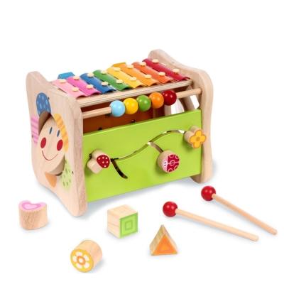 boby波比 木質多功能益智遊戲玩具台(12m+)